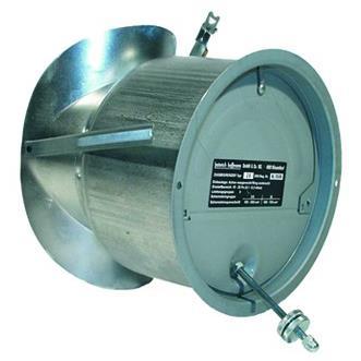 120mm-es füstcsőre szerelhető kéményhuzat szabályozó.