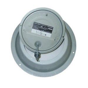 Kéményfalra szerelhető kéményhuzat szabályozó (50kW-ig).