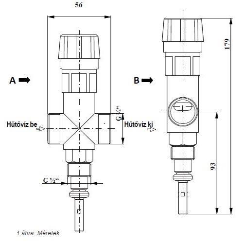 JBV1 beépitési méretek