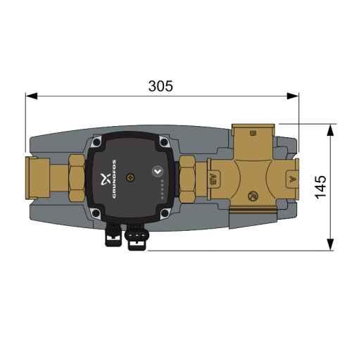 A REGOMAT kazánvédő méretei