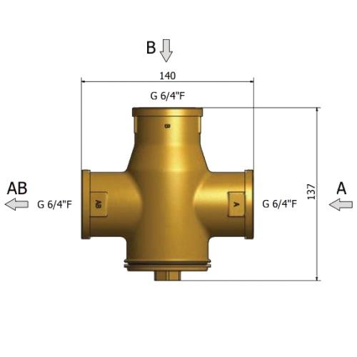 A TSV6B szelep beépitése kazánvédelemre