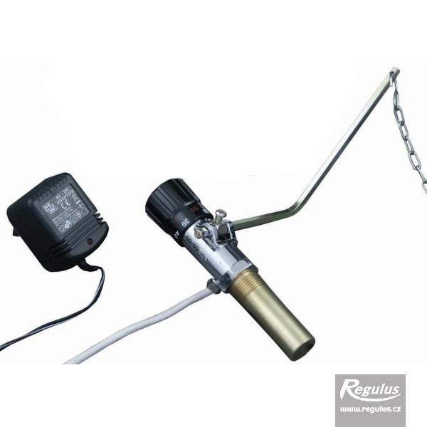 RT3-E Elektromos és termikus vezérlésű huzatszabályzó szilárdtüzelésű kazánhoz.