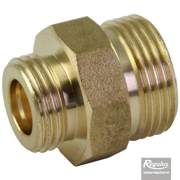 1/2-3/4 KM/KM réz közcsavar növelt tömítőfelülettel (tömítőfelület 3,2 / 3,5 mm).
