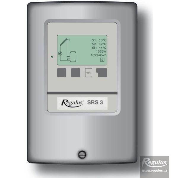 SRS3 digitális vezérlőegység 3db PT 1000 érzékelővel.