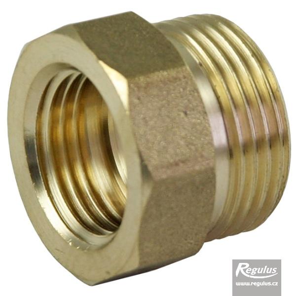 1/2'-3/4' BM/KM réz közcsavar növelt tömítőfelülettel tömítőfelület 3,5 mm.
