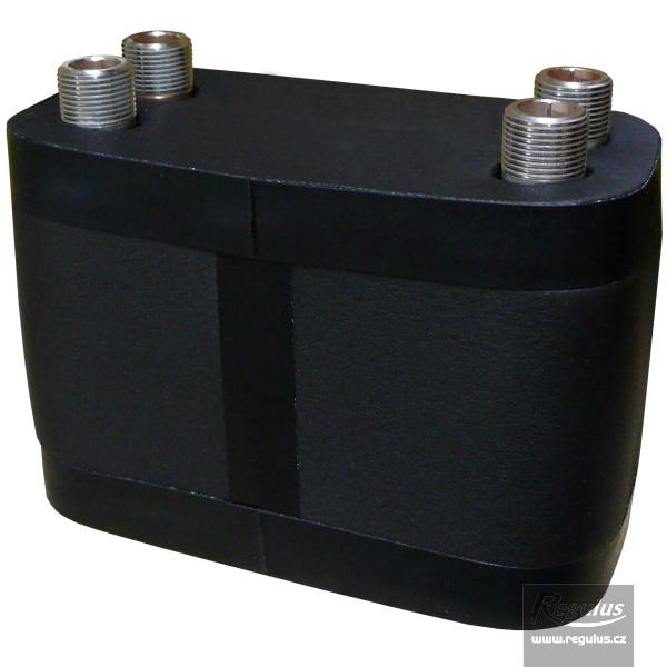 DV193-45 rozsdamentes hőszigetelt lemezes hőcserélő (0,63m2).