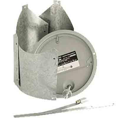 ZR 8 180mm-es füstcsőre szerelhető kéményhuzat szabályozó.
