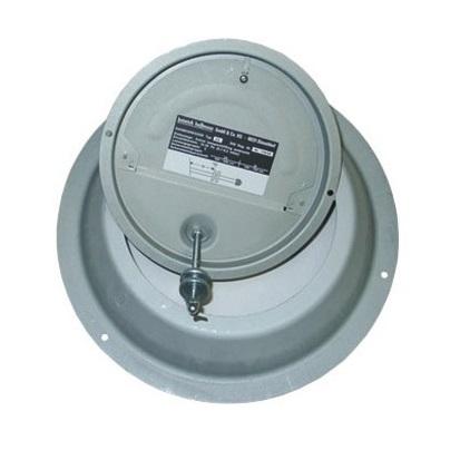 DR6 Kéményfalra szerelhető kéményhuzat szabályozó 50kW-ig.