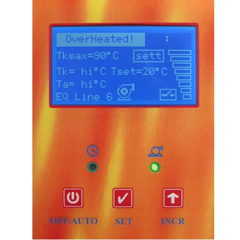 INT0140 Elektromos kazán vezérlő