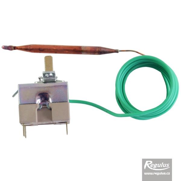 Beépíthető, állítható termosztát kapilláris érzékelővel. l=1500 mm, 0-120°C.