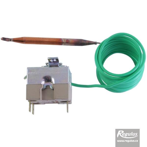 Beépíthető, állítható termosztát kapilláris érzékelővel. l=1500 mm, 0-40°C.