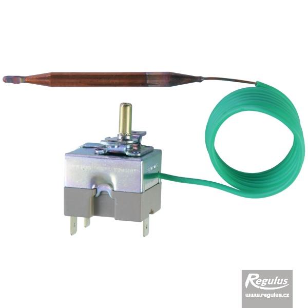 Állítható korlátozó termosztát kapilláris érzékelővel, l=1000 mm 40 - 60°C.