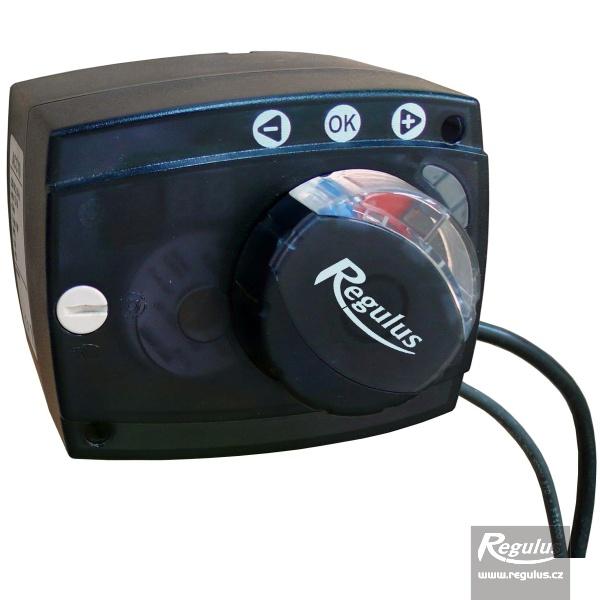 ACC30 230V aktuátor keverőszelephez beépített vezérléssel, Pt1000 érzékelővel.