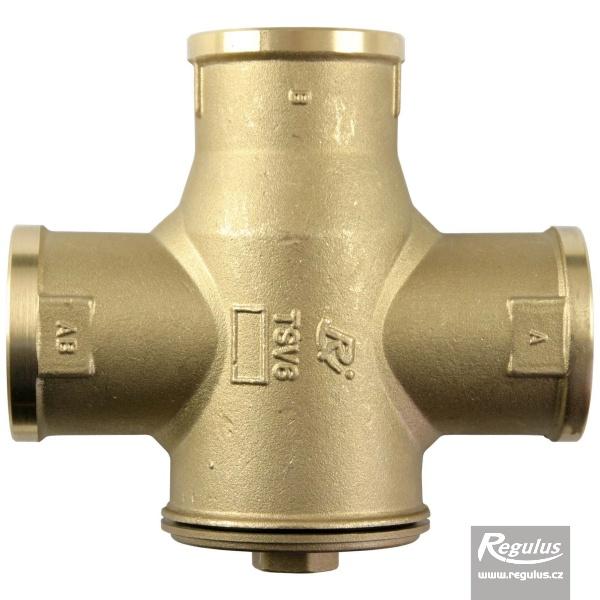 TSV6B - 65°C Kazánvédő szelep, bypass szeleppel, 6/4BM.