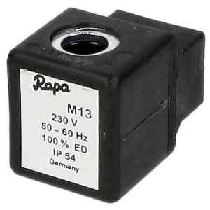 Mágnestekercs M13 230V 50-60Hz 8W - 4 széria