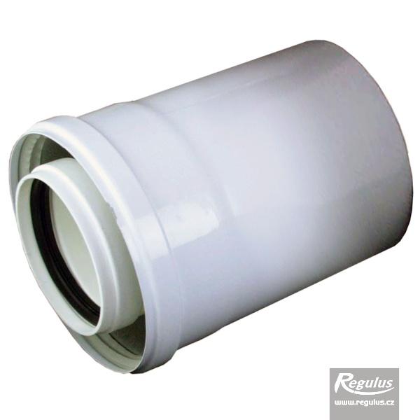 0,25 m toldóelem, 80/125 PP (A2010009).