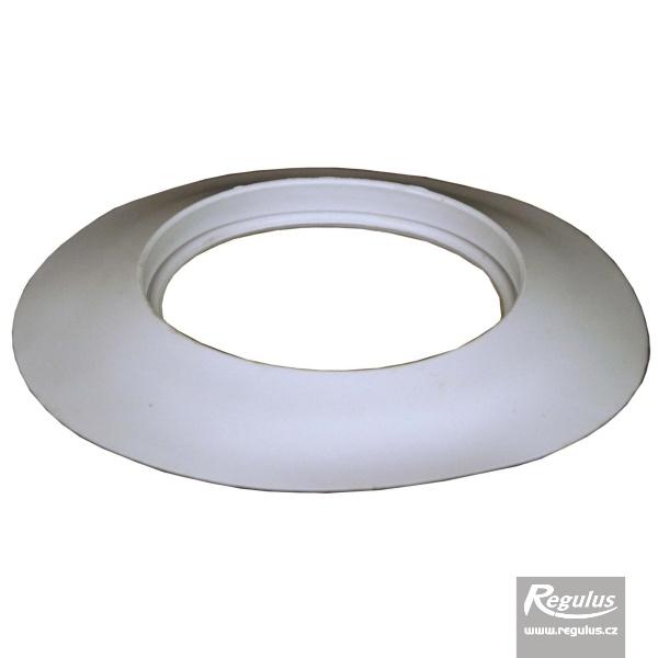 Belső/külső fali takarógyűrű, átm. 125 mm (A1018027).