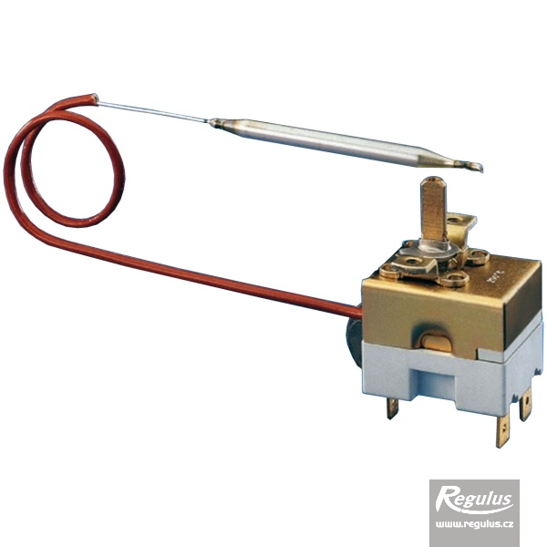 Beépíthető, állítható termosztát kapilláris érzékelővel. l=1000 mm, 0-120°C.