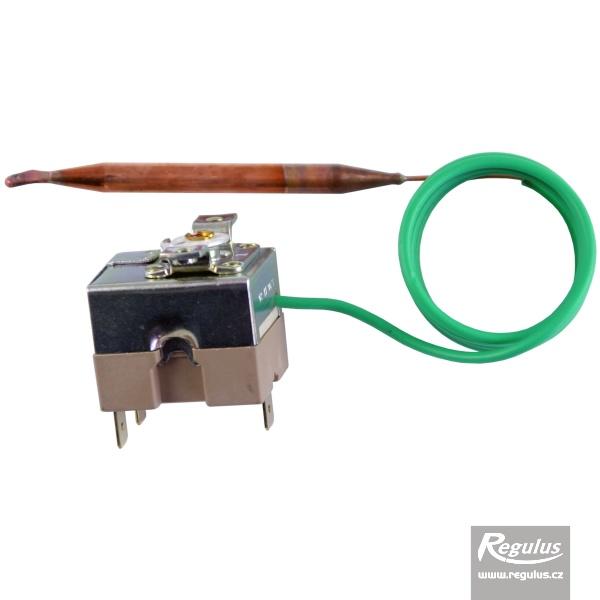 Beépíthető, állítható termosztát kapilláris érzékelővel. l=1000 mm, 0-90°C.