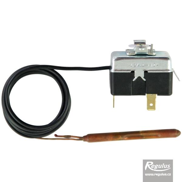 Állítható korlátozó termosztát kapilláris érzékelővel, l=1000 mm 90 - 110°C.