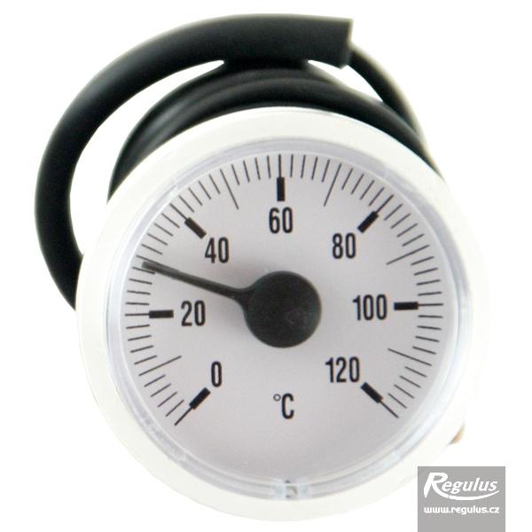Hőmérsékletmérő kapilláris érzékelővel (0-120°C, d=42mm, l=1000mm).