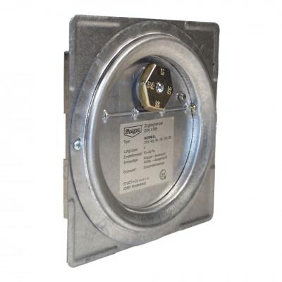 Dragex Atmo Kéményfalra szerelhető kéményhuzat szabályozó (50kW-ig).