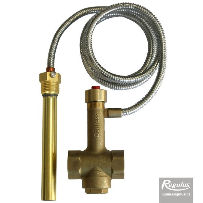 BVTS 1,3-108°C  1-utas biztonsági visszahűtő szelep kapilláris érzékelővel - 108°C.
