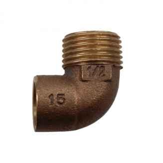 Forraszvég 90° 22mm x 3/4col KB