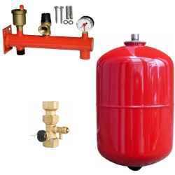 Tágulási tartály telepítö készlet, 40 literes